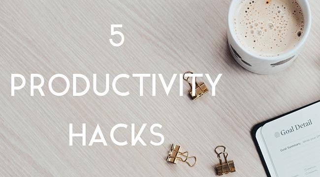 5 Productivity Hacks to Kickstart Your Week!